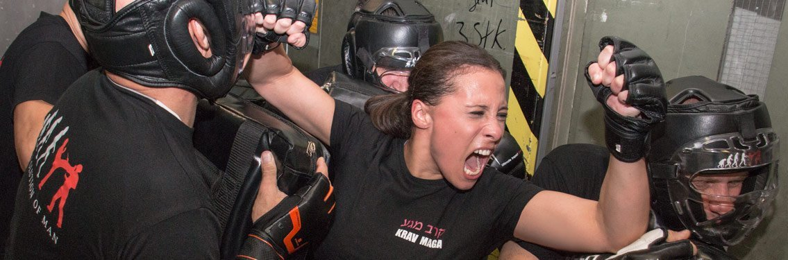 women krav maga selfdefense