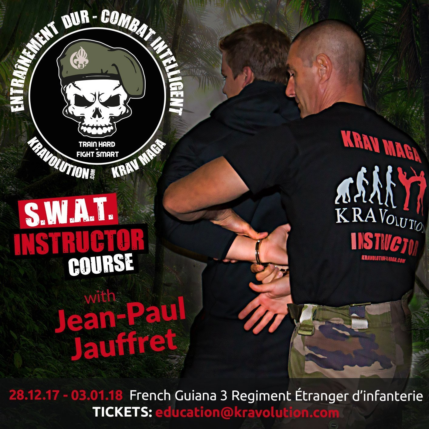 News kravolution swat instructor course in french guiana with jean paul jauffret buycottarizona