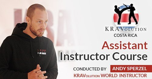 Krav Maga Assistant Course with KRAVolution World Instructor