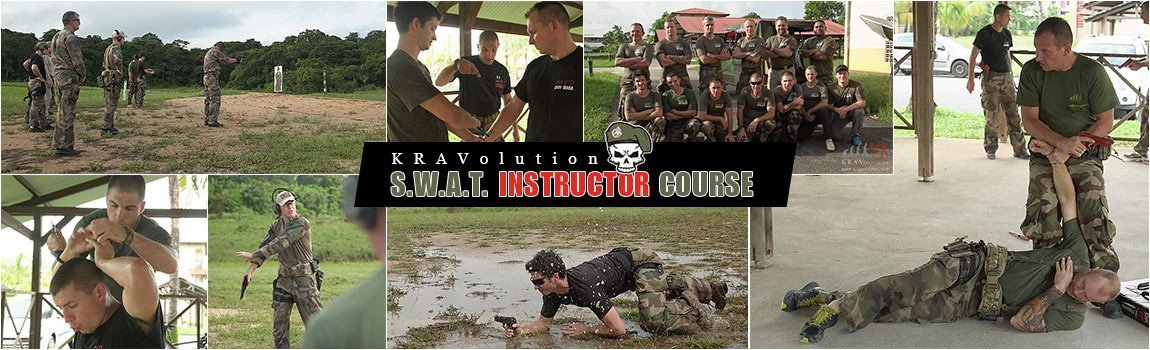 SWAT Instructor Krav Maga Course Guiana