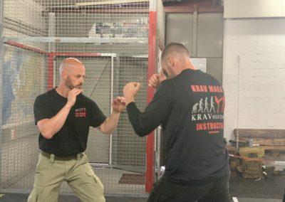 Krav Maga Selfdefense Instructors Markus von Hauff